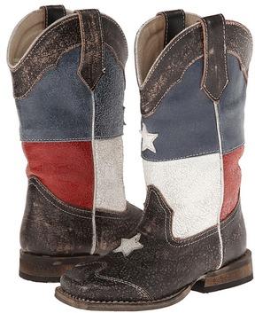 Roper Texas Flag Square Toe Boot (Toddler/Little Kid)
