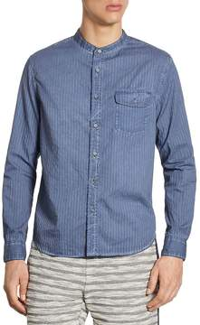 Madison Supply Men's Striped Button-Down Shirt