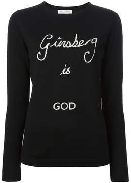Bella Freud 'Ginsberg is God' sweater