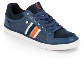 Original Penguin Thaw Mesh Leather Sneakers