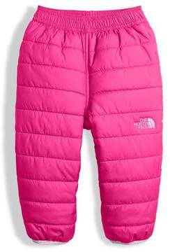 The North Face Reversible Perrito Quilted Pants, Pink, Size 3-24 Months