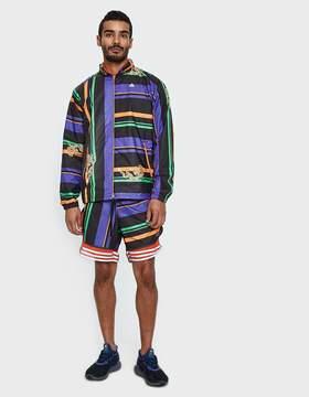 adidas X Kolor AOP Shorts in Black