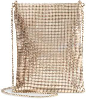 Nordstrom Metallic Mesh North/South Crossbody