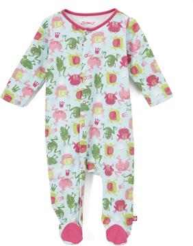 Zutano Sky Frog Princess Footie - Infant