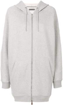 CK Calvin Klein oversized zipper hoodie