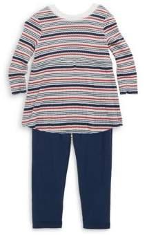 Splendid Baby's Two-Piece Striped Sweater & Stretch Pants Set