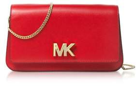 Michael Kors Women's Red Leather Clutch. - RED - STYLE