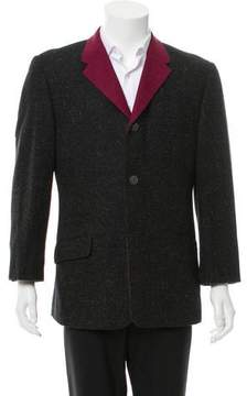 Gianni Versace Two-Tone Wool Blazer