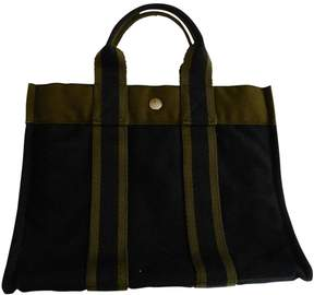 Hermes Toto cloth tote - BLACK - STYLE