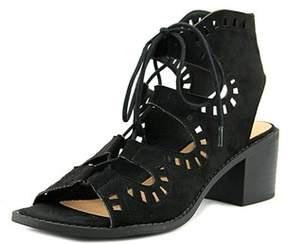 Esprit Lotus Women Open Toe Leather Tan Sandals.