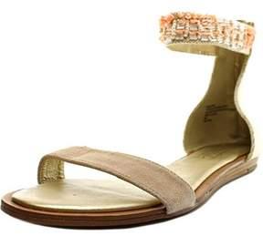 Nanette Lepore Marianne Open Toe Canvas Gladiator Sandal.