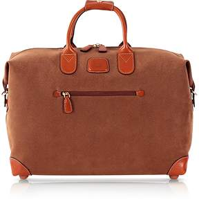 Bric's Life Camel Micro Suede 18 Duffle Bag