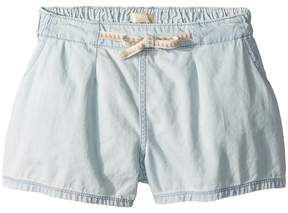 Roxy Kids Fearless Flyers Denim Shorts Girl's Shorts