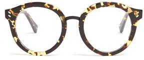 Stella McCartney Round-frame acetate glasses