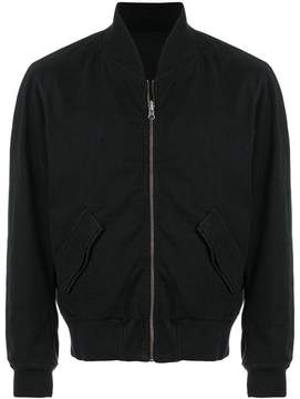 Ann Demeulemeester Blanche cropped bomber jacket