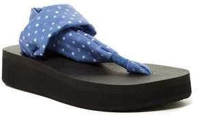 Sanuk Yoga Sling Prints Wedge Sandal
