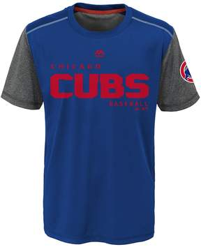 Majestic Boys 8-20 Chicago Cubs Club Series Cool Base Tee