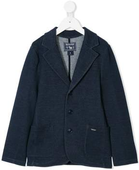 Woolrich Kids single breasted blazer