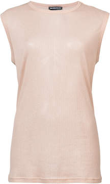 Ann Demeulemeester sleeveless sheer top