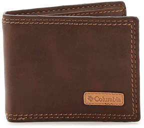 Columbia Men's Security Bifold Leather Wallet