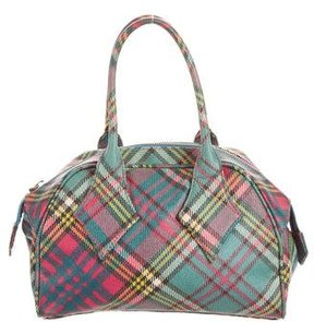 Vivienne Westwood Plaid Derby Bag