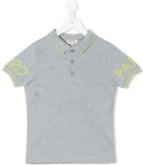 Kenzo logo printed sleeve polo shirt