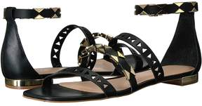 Matteo Massimo 3 Band Ankle Strap Women's Shoes