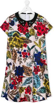 Simonetta floral print dress