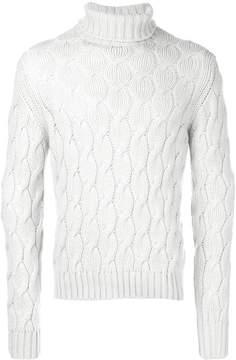 Cruciani knitted turtleneck sweater