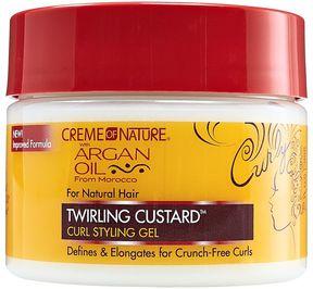 Creme of Nature Argan Oil Twirling Custard