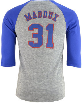 Majestic Men's Greg Maddux Atlanta Braves Coop Player Entry Raglan T-Shirt
