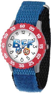 Marvel Emoji Boys Blue Strap Watch-Wma000092