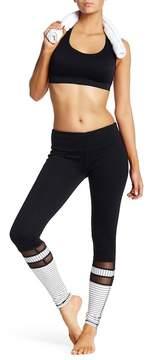 Electric Yoga Stripe Mesh Leggings