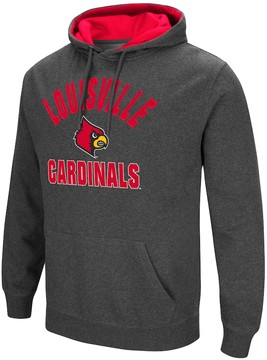 Colosseum Men's Campus Heritage Louisville Cardinals Pullover Hoodie