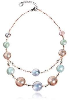 Antica Murrina Veneziana Women's Pink Steel Necklace.