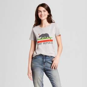 Awake Women's California Surf Republic T-Shirt Gray