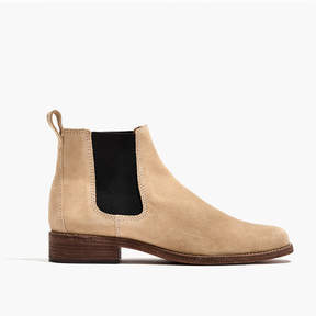 Madewell The Ainsley Chelsea Boot in Suede