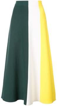 Derek Lam Colorblocked Knit Skirt