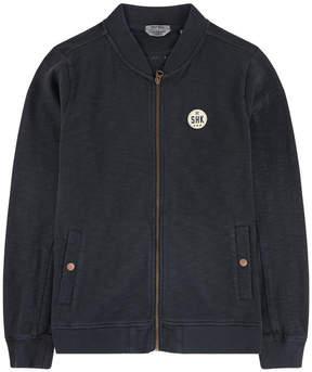 Scotch & Soda Fleece bomber jacket