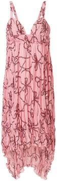 Pinko rope print dress
