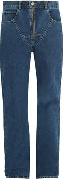 Martine Rose Mid-rise straight-leg jeans