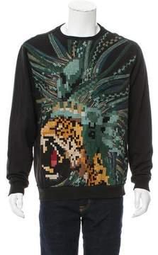 MHI Embroidered Crew Neck Sweatshirt