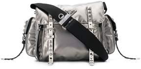 Prada metallic shoulder bag