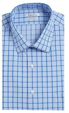 Van Heusen Regular Fit Winkle Free Check Dress Shirt
