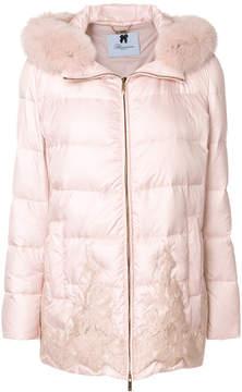 Blumarine classic padded jacket