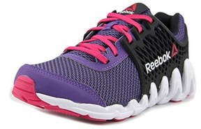 Reebok Zigtech Big N Fast Ex Round Toe Synthetic Running Shoe.