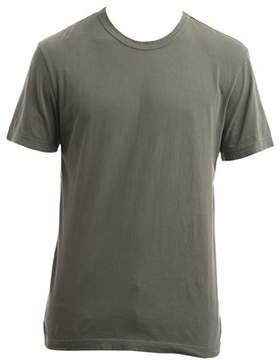 James Perse Men's Mlj3311plap Green Cotton T-shirt.