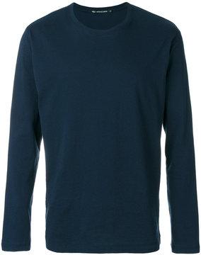 Issey Miyake crew neck sweatshirt