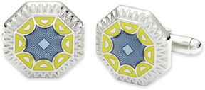 Asstd National Brand Art Deco Enamel Cuff Links