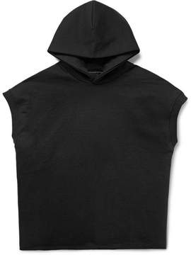 Fear Of God Sleeveless Loopback Cotton-Jersey Hoodie